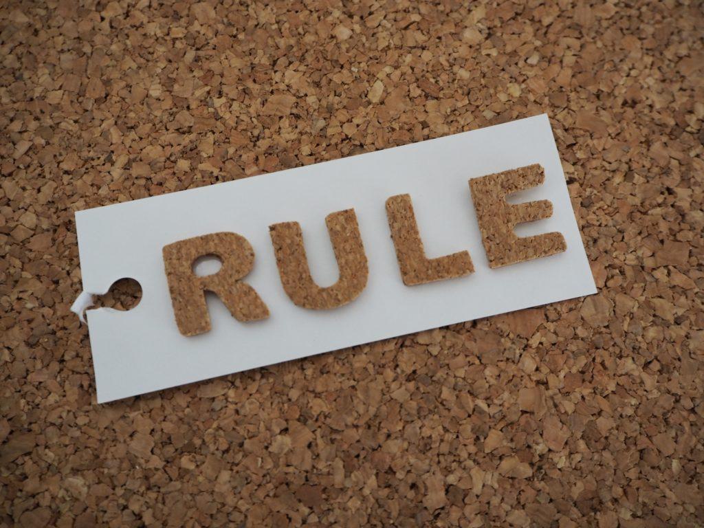 店長が模範となってルールを徹底する